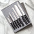Rada Cutlery The Starter Gift Set with silver handles.