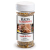 Rada Quick Mix Steak & Chop Seasoning shaker bottle package.