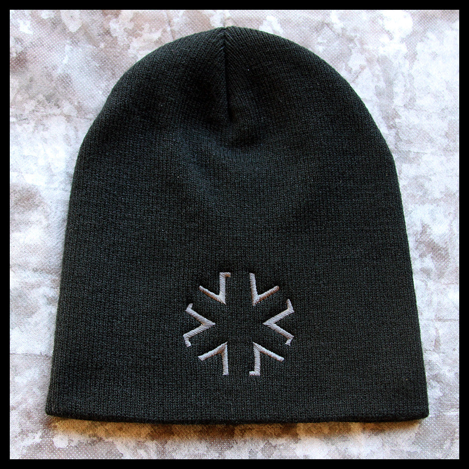 AMA Star Knit Cap - Black