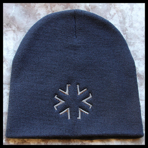 AMA Star Knit Cap - Navy
