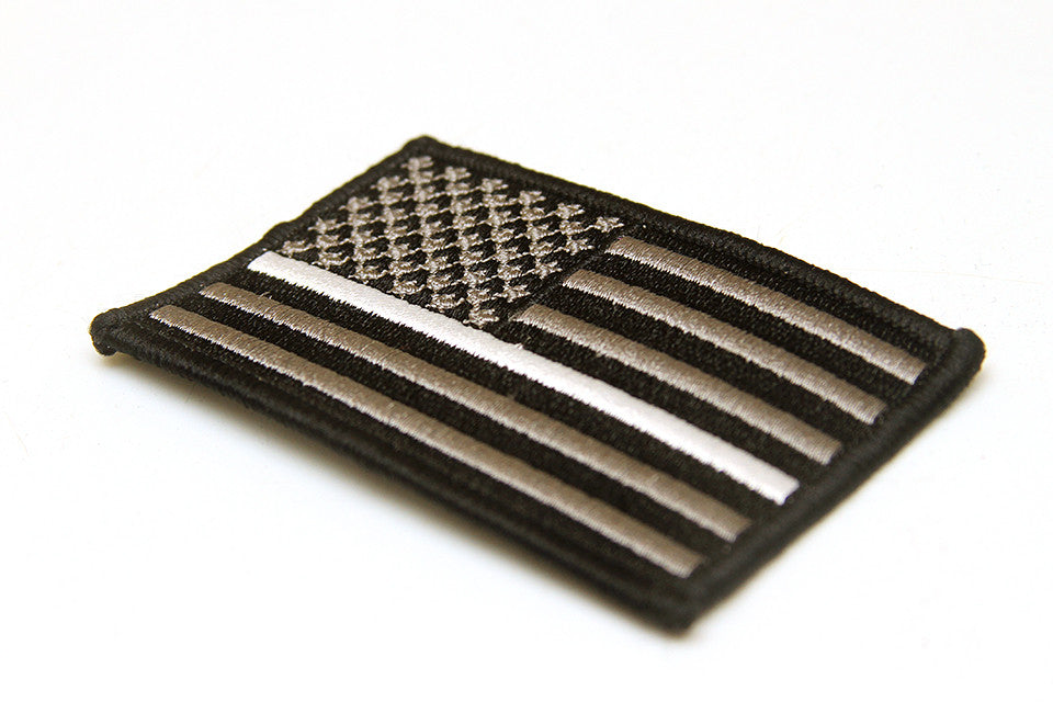Thin White Line Patch flag
