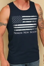Thin White Line Flag Tank