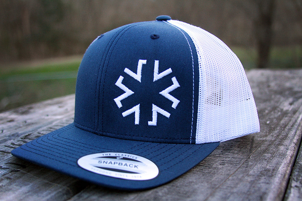 AMA Star Snapback - Navy/White