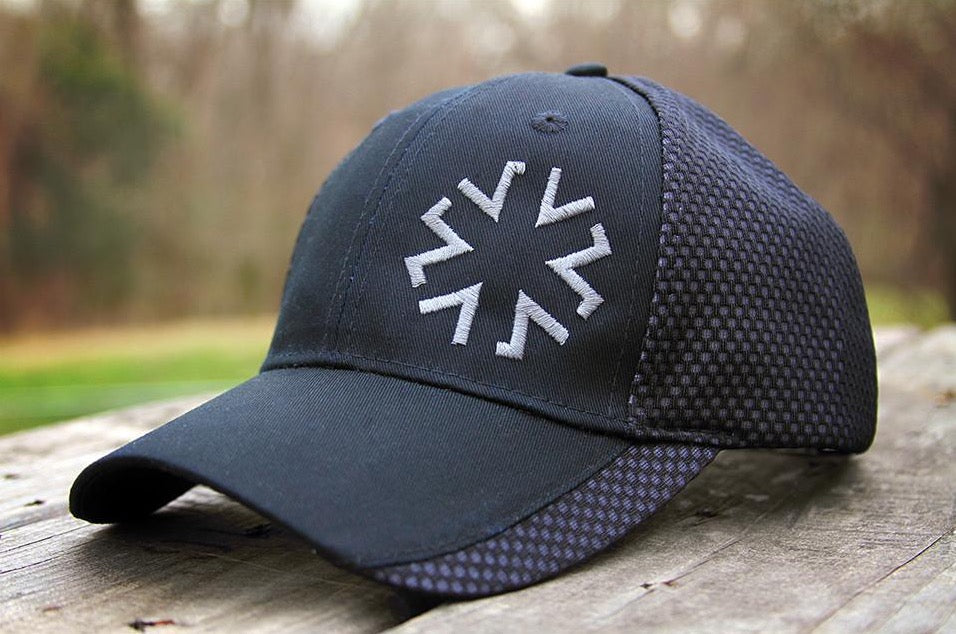 AMA Star Hex - Black/White
