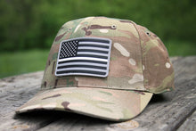 Thin White Line Flag PVC Patch Snapback - Camo