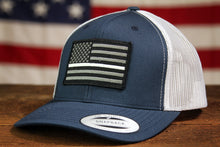 Thin White Line Flag Trucker - Navy/White