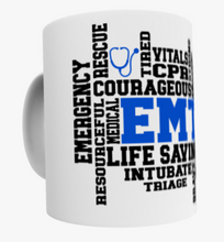 EMT Word Art Mug