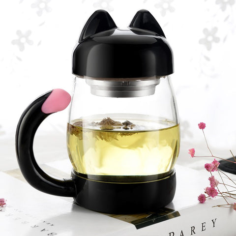 Kit-tea Mug and Steeper [420ml]