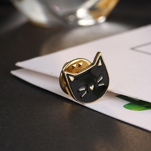 Cat-titude Enamel Pin