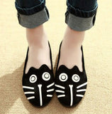 Cute in Death Skelekitty Flats