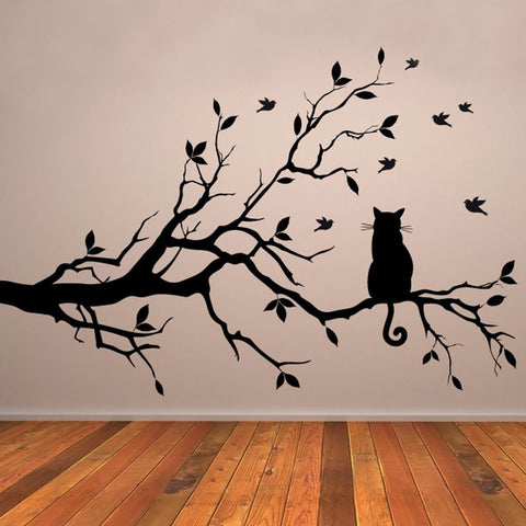 Out on a limb Vinyl Wall Art