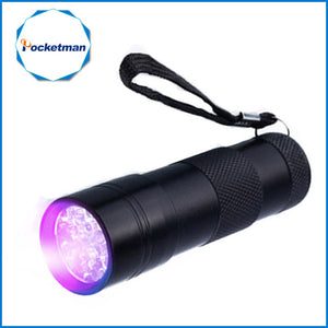 Mini 9 LED zaklamp - Ultraviolet licht KoopjesAap
