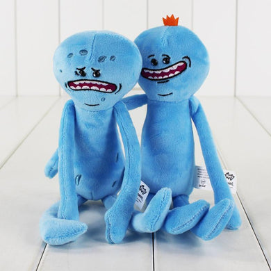 Rick and Morty - Knuffel - Mr Meeseeks - 25cm lang KoopjesAap