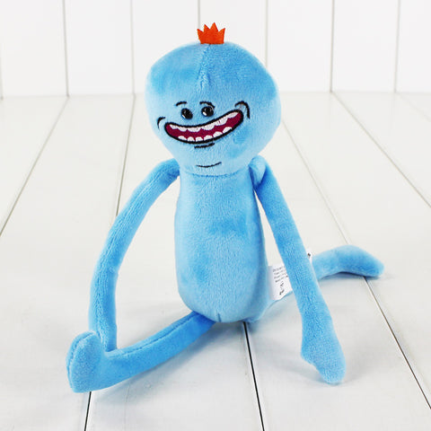 Rick and Morty - Knuffel - Mr Meeseeks - 25cm lang