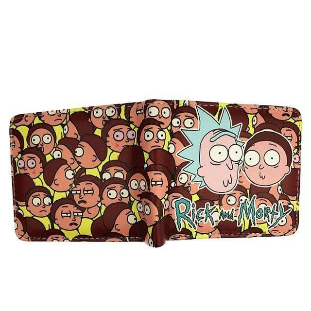 Rick and Morty portemonnee - Cartoon - Portefeuille KoopjesAap