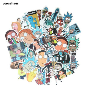 Rick and Morty stickers - 35 Stuks - Cartoons KoopjesAap