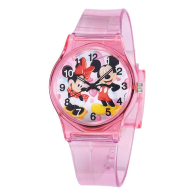 Mickey en Minnie Mouse horloge - Kinderhorloge
