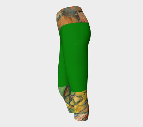 Yoga Capris - The Pelourinho Collection