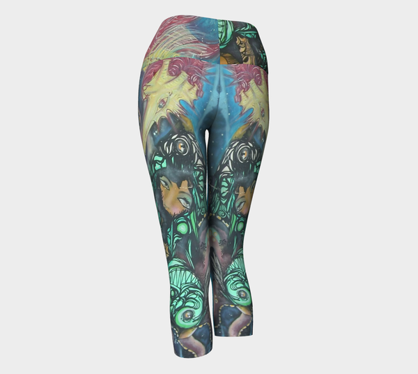 Yoga Capris - Sao Joaquim Collection