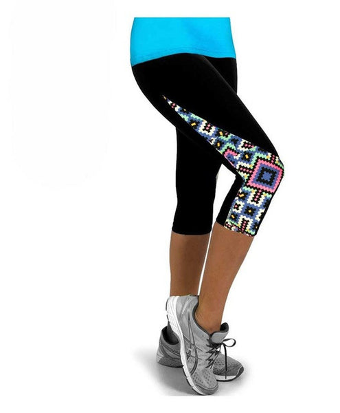 Yoga Capri - The Patch Work Collection