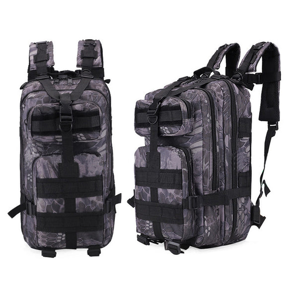 Multi-functional Camouflage Shoulder 20L-35L Outdoor Hiking Leisure  Backpack