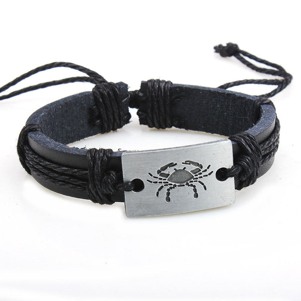 Adjustable Leather Bracelets