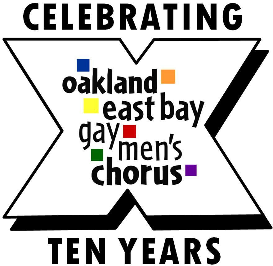 Oakland East Bay Gay Men's Chorus logo