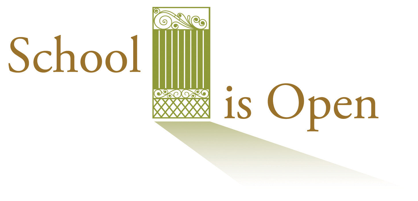 School Is Open logo