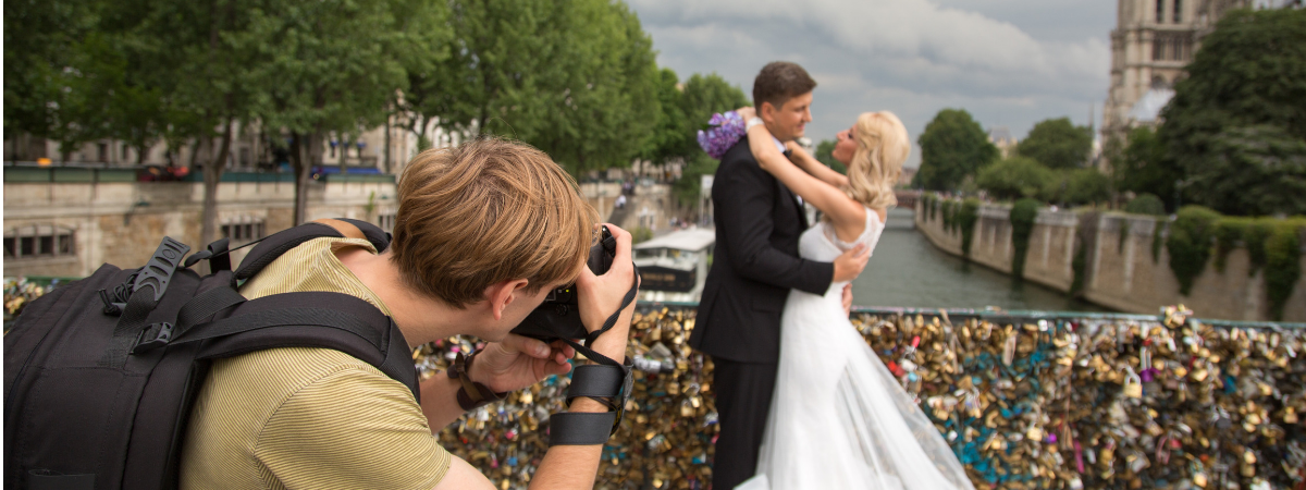 Wedding Photographers are Changing the Present banner