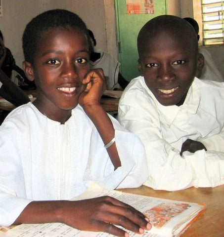 Give a gift that matters: a donation in your friend's name. You gift will provide school supplies for 5 children in Tattaguine, Senegal. World Vision, along wit