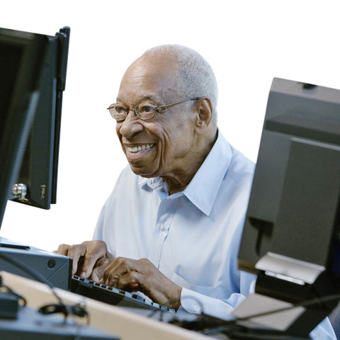 Give a gift that matters: a donation in your friend's name. Your donation will provide one low-income senior with a personal home computer.  Through this gift,