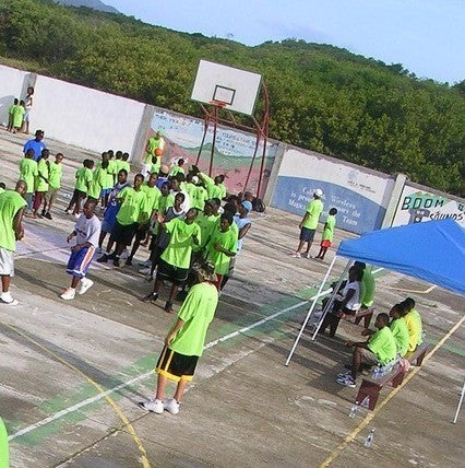Give a gift that matters: a donation in your friend's name. Your extremely generous gift will help fix up 5 basketball courts on 4 islands of St. Vincent & the