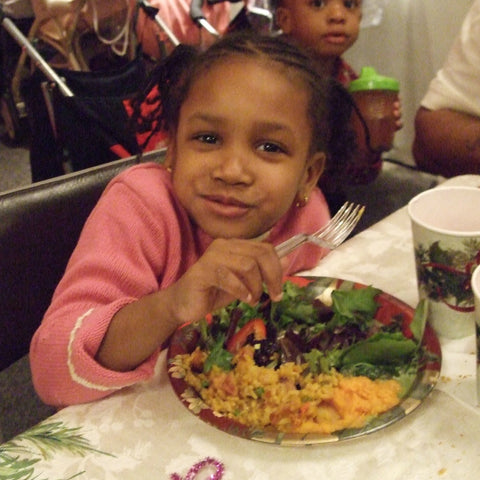 Give a gift that matters: a donation in your friend's name. This gift will provide a nutritious, balanced dinner for a family of four living in a NYC shelter. T