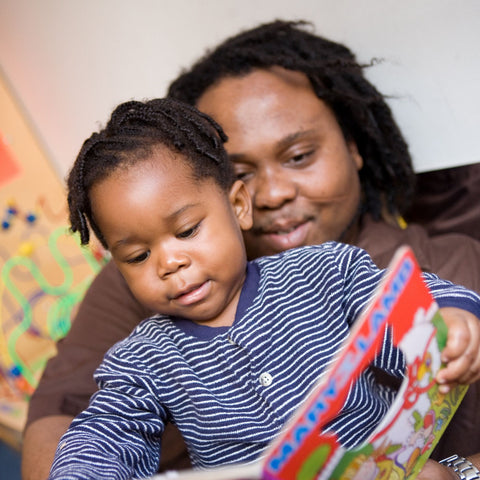 Give a gift that matters: a donation in your friend's name. Early literacy strategies that help parents support their child's language development, and books fo