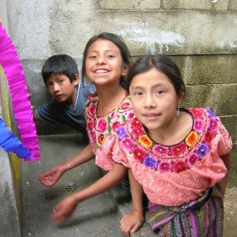Give a gift that matters: a donation in your friend's name. Your $100 gift will help provide a school sanitary block (total cost $5,000) in a rural Guatemalan s