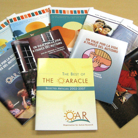 Give a gift that matters: a donation in your friend's name. This gift will provide a family resource center with the complete collection of OAR guidebooks, incl