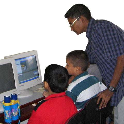 Give a gift that matters: a donation in your friend's name. Five gifts of $100 each enables a school in Sri Lanka to buy and install a small personal computer f