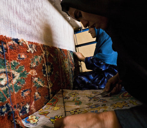 Give a gift that matters: a donation in your friend's name. Your donation buys a quality rug loom for a weaver whose earnings are the sole source of income for