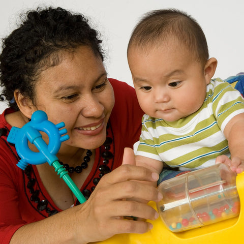 Give a gift that matters: a donation in your friend's name. This gift will provide baby equipment to a family in need.