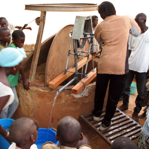 Give a gift that matters: a donation in your friend's name. At a cost of $50, a treadle pump allows a farmer to move 6,000 liters of water per hour from depths