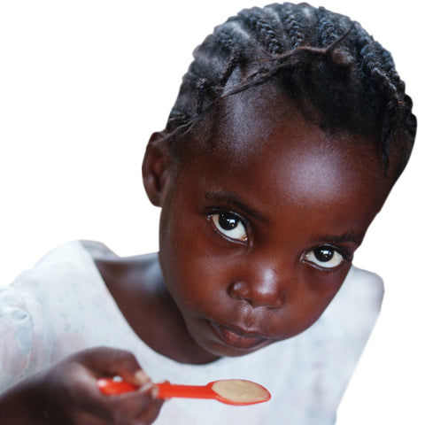 Give a gift that matters: a donation in your friend's name. This gift will allow us to tackle the problem of malnutrition in children by enabling us to provide