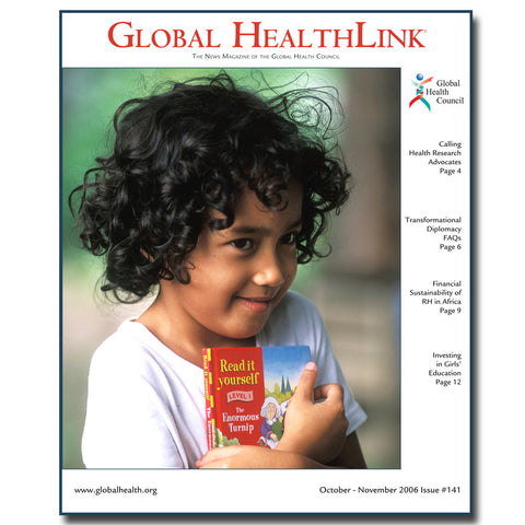Give a gift that matters: a donation in your friend's name. This gift will provide for a year's subscription of Global HealthLink and Global AIDSLink, the Counc