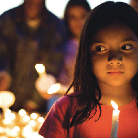 Give a gift that matters: a donation in your friend's name. Candlelight is celebrated anually in more than 1,000 communities in 65 countries. Run by volunteers,
