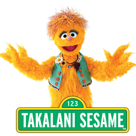 Give a gift that matters: a donation in your friend's name. Your donation will help support Takalani Sesame, the South African version of Sesame Street  Takalan