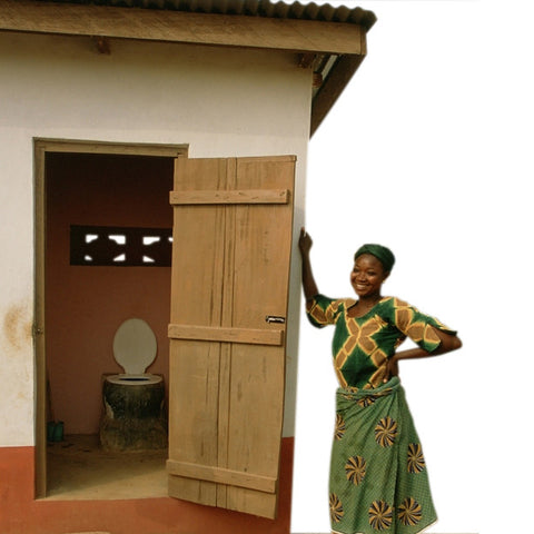 Give a gift that matters: a donation in your friend's name. A composting toilet is a special type of toilet that not improves privacy and plays a vital role in