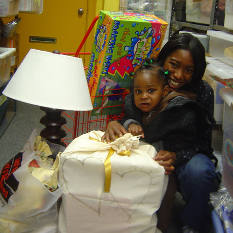 Give a gift that matters: a donation in your friend's name. The Move Out Package will help provide furniture, linens and housewares to ensure that when families