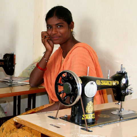 Give a gift that matters: a donation in your friend's name. This gift will provide a kit of basic tailoring tools and cloth for one woman in a tailoring trainin