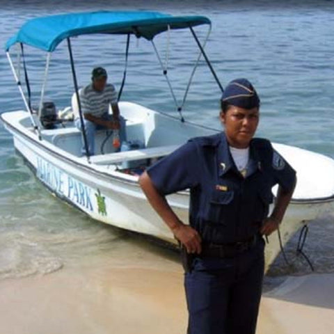 Patrolling Marine Protected Areas