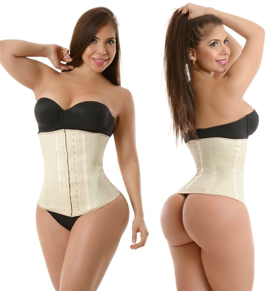 CLASSIC LATEX 2 HOOK WAIST TRAINER-1934-P2