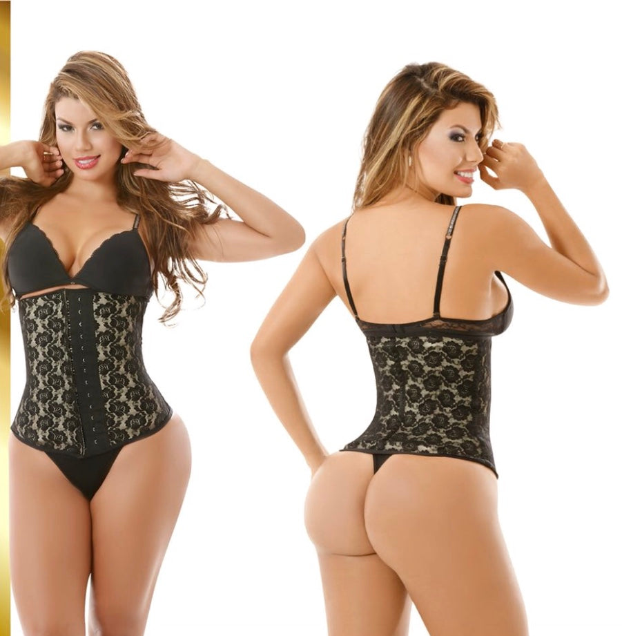 LATEX LACE WAIST TRAINER 1981-2
